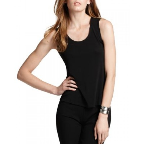 Eileen Fisher System Silk Jersey Tank Unlined Silk Hand wash Imported 551337 RSPTCSG
