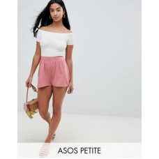DESIGN Petite culotte shorts in rose pink Some serious daytime inspiration right here 1296084 GAQWZOO