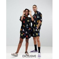 DESIGN x glaad& shorts co-ord in print We're partnering with GLAAD in support of the & movement 1314447 VNCMSPL