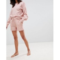 Micha Lounge Knitted Shorts With Roll Hem Co-Ord Co-ord style 1219698 UDODOAY