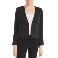 Eileen Fisher Silk Cropped Jacket Designed for an easy classic fit 2908398 HQUBEXM
