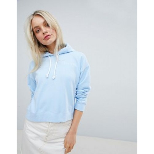 Jack Wills Cropped Logo Hoodie Welcome to the cosy life 1274141 LBZNNFS