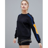 South Beach Stripe Sleeve Sweatshirt You can never have too many 1233287 VBGYCQK