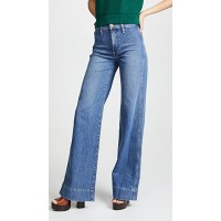 AO.LA by alice + olivia Gorgeous High Rise Jeans Sweet Emotion Fabric Stretch denim Rainbow embroidery ZWGIZZP