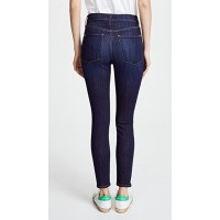 AO.LA by alice + olivia High Rise Exposed Button Jeans Dream On Fabric Lightweight super-stretch denim Exposed button closure YMOHBPP
