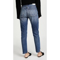 Citizens of Humanity Liya High Rise Classic Fit Jeans Troublemaker RMMKFNA