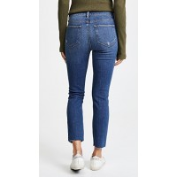 L'AGENCE Marcelle Slim Fit Jeans Authentique Distressed CAMMDKH