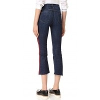 MOTHER The Insider Crop Step Fray Jeans Speed Racer WDDVBSM