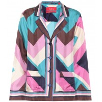 F.R.S For Restless Sleepers Printed silk shirt material 100% silk P00316841 TXYKFHS