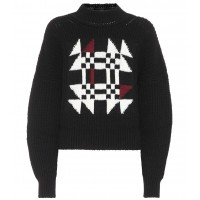 Isabel Marant Lawrie cotton and wool-blend sweater material 55% cotton 40% wool 4% polyamide 1% elastane P00294030 THOOJTB