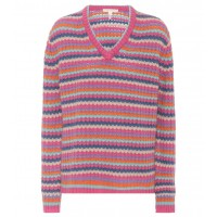 Marc Jacobs Striped cashmere sweater material 100% cashmere P00297873 QEXRATG