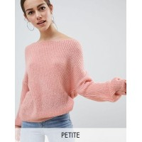 Missguided Petite Light Weight Twist Back Jumper Throw this on when the temperature dips 1277751 FGPRVAE