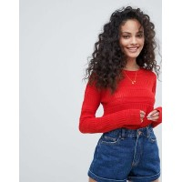 Pimkie Lightweight Patterened Knitted Jumper New garms? 1317002 TFNRJUY