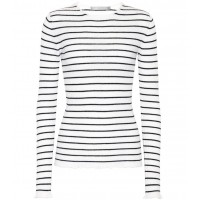 Vince Striped cashmere top material 100% cashmere P00326254 UTODSNP