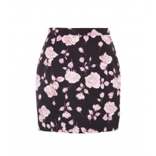 Alessandra Rich Floral-printed faille miniskirt material 100% polyester P00316230 OOGJQVD