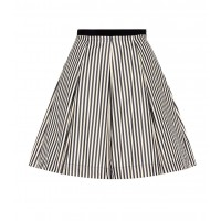 Moncler Striped skirt material 67% cotton 33% polyamide P00244803 IGLTWIG