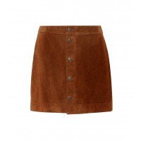 Polo Ralph Lauren Suede miniskirt material 100% cow leather P00332727 TYDRVNJ