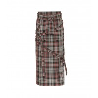 Rokh Checked skirt material 65% polyester 35% viscose P00332840 EVLNOWT