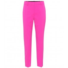 Emilio Pucci Cropped stretch wool pants material 98% virgin wool 2% elastane P00324342 NCPHLJL