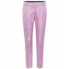 Emilio Pucci Houndstooth straight-leg pants material 100% viscose P00324345 YQUEVLF