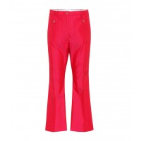 Golden Goose Deluxe Brand Selene cotton-blend twill trousers material 62% polyester 38% cotton P00311719 ZIRZXQW