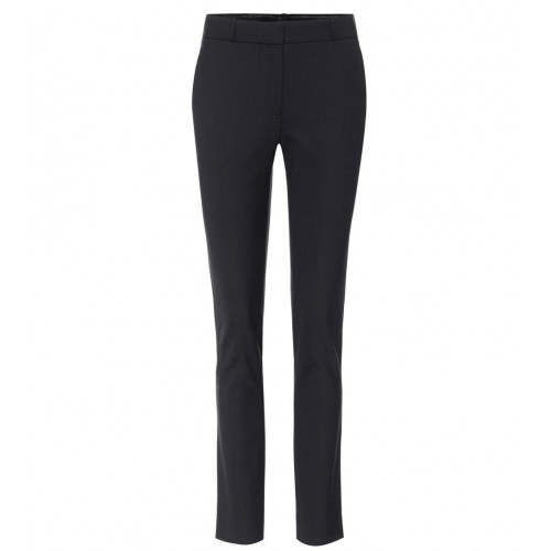 The Row Franklin stretch wool trousers Zipper fly hook and button fastenings P00211302 DHSMCOS