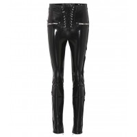 Unravel Faux leather skinny trousers material 50% polyurethane 46% polyester 4% elastane P00305566 RZRTTJS